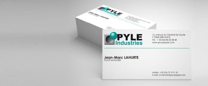 Carte de visite – Pyle Industries