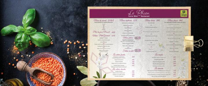 Set de table – Le Rhien