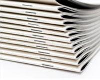 Brochure deux points métal