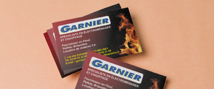 Carte commerciale – Garnier